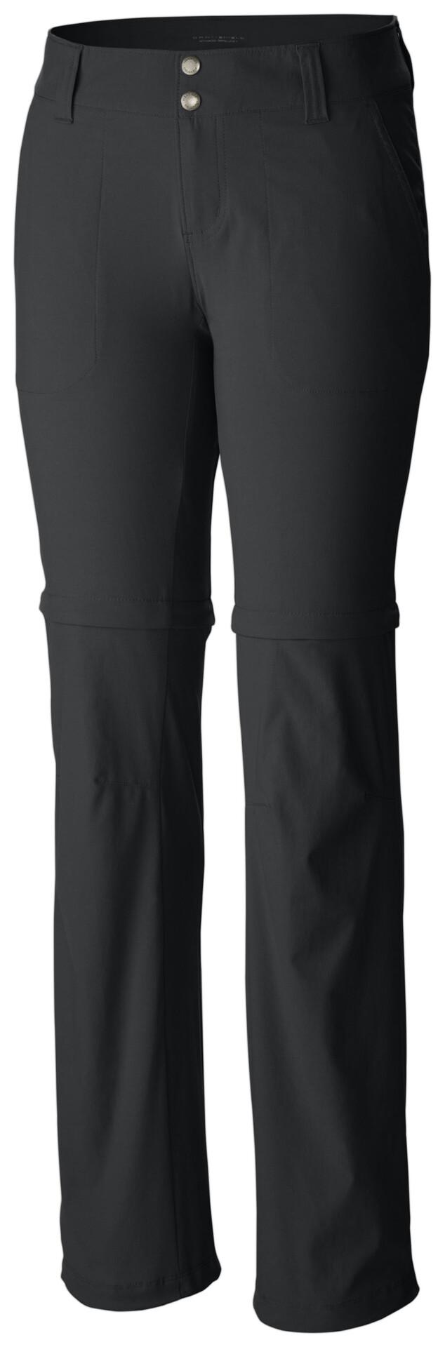 Pantalon convertible Columbia Saturday Trail II noir femme